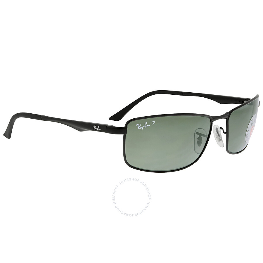 45b6334272 ... Ray Ban Green Classic G-15 Men s Polarized Sunglasses RB3498 002 9A 61-  ...