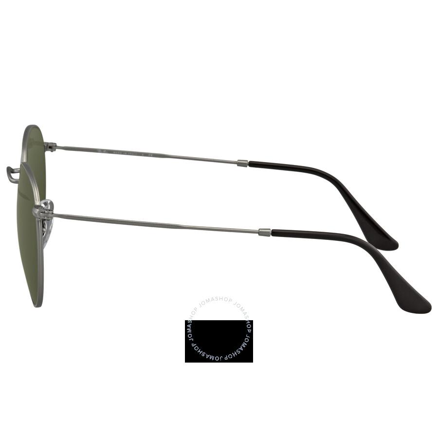 986db26c07 Ray Ban Green Classic G-15 Men s Sunglasses RB3447 029 53 - Round ...