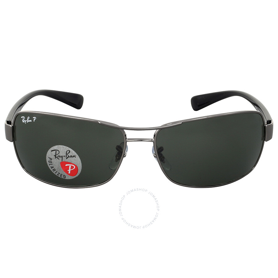 438cbd4af Ray Ban Green Classic G-15 Polarized Sunglasses RB3379 004/58 64 ...