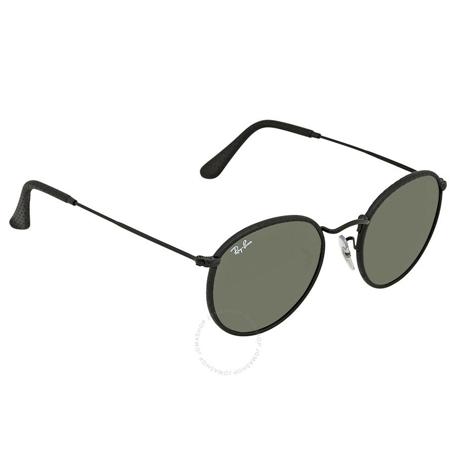 a3bd53f6aa7 Ray Ban Green Classic G-15 Round Men s Sunglasses RB3475Q 9040 50 ...