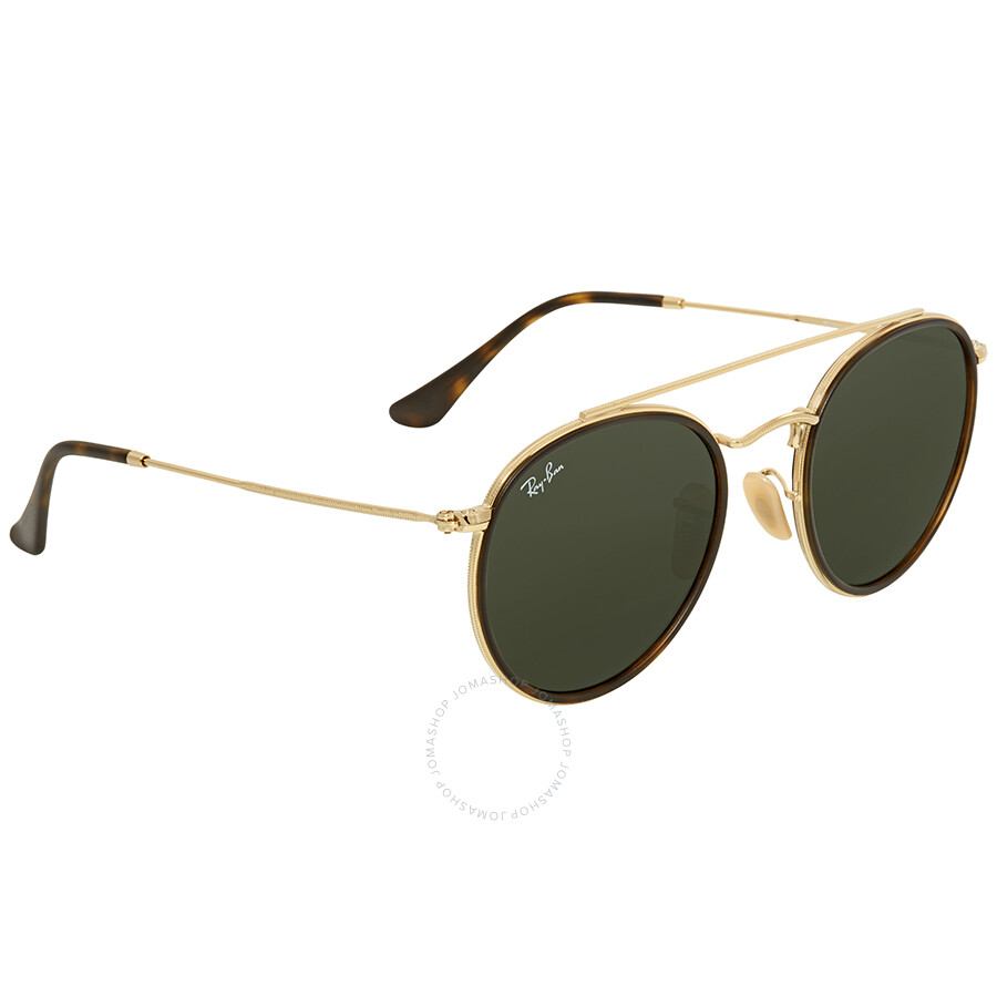 485fc5fc6c0 Ray Ban Green Classic G-15 Round Sunglasses RB3647N 001 51 - Round ...