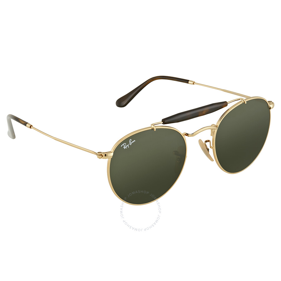 032386bd83 Ray Ban Green Classic G-15 Round Sunglasses RB3747 001 50 - Round ...