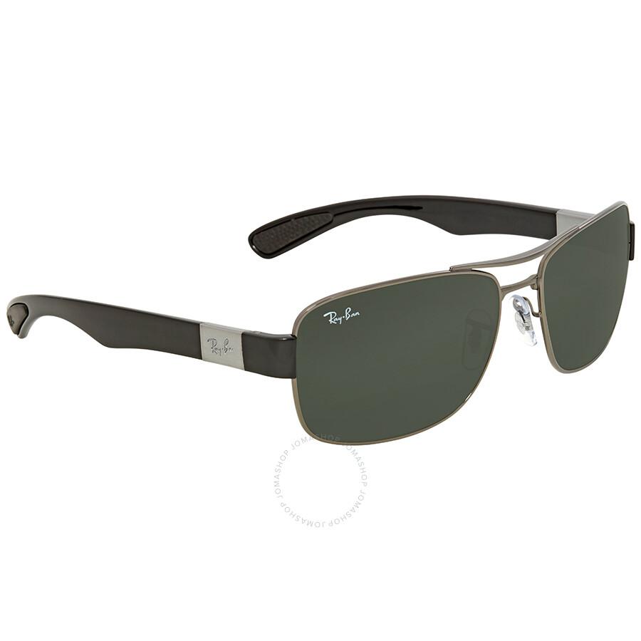 db28a253964 ... Ray Ban Green Classic Rectangular Men s Sunglasses RB3522 004 71 61 ...