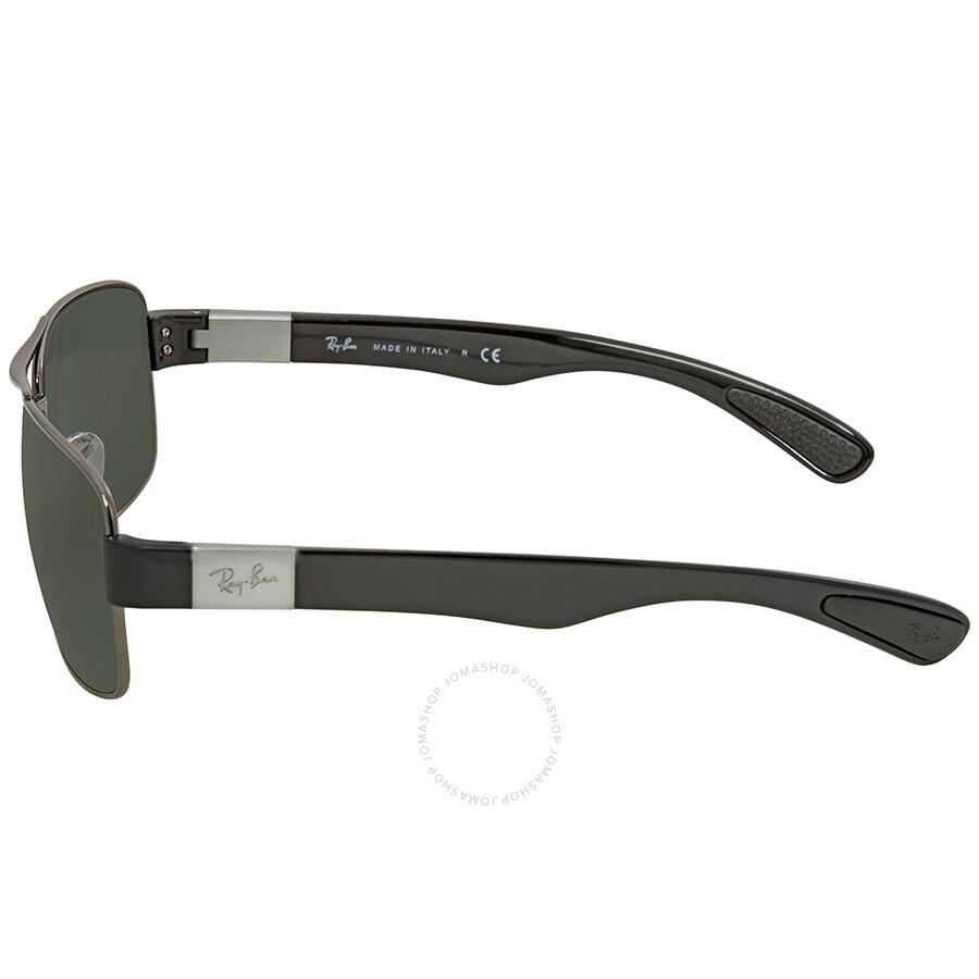 91800201d8f Ray Ban Green Classic Rectangular Men s Sunglasses RB3522 004 71 61 ...