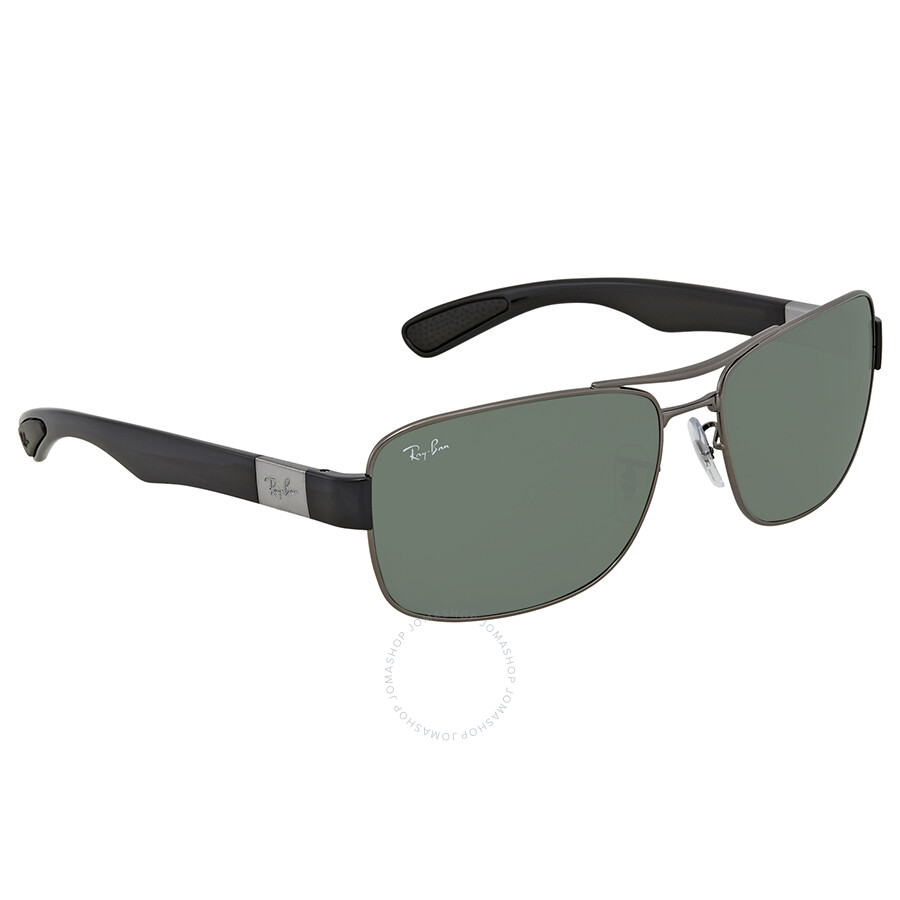 49571e6b1f Ray Ban Green Classic Rectangular Men s Sunglasses RB3522 004 71 64 ...