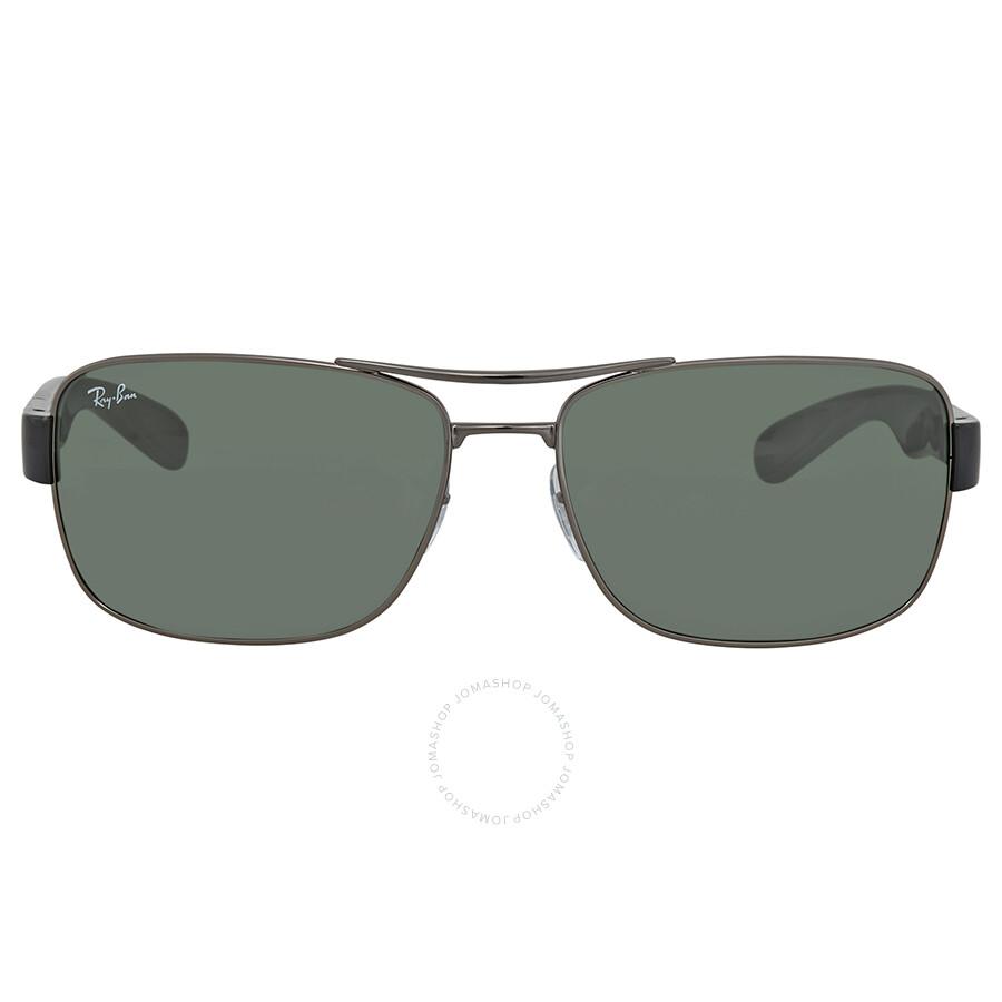 f930c1b578a ... Ray Ban Green Classic Rectangular Men s Sunglasses RB3522 004 71 64 ...