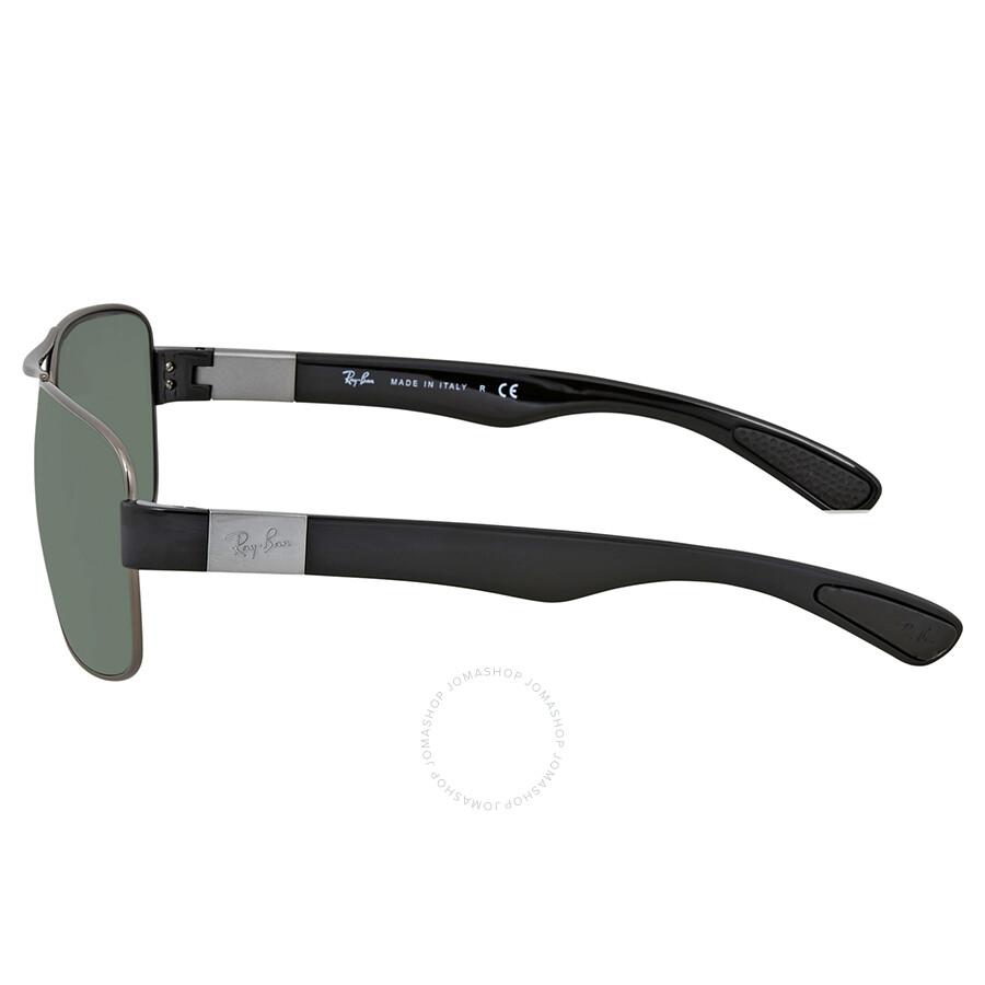 c6865f6d479 Ray Ban Green Classic Rectangular Men s Sunglasses RB3522 004 71 64 ...