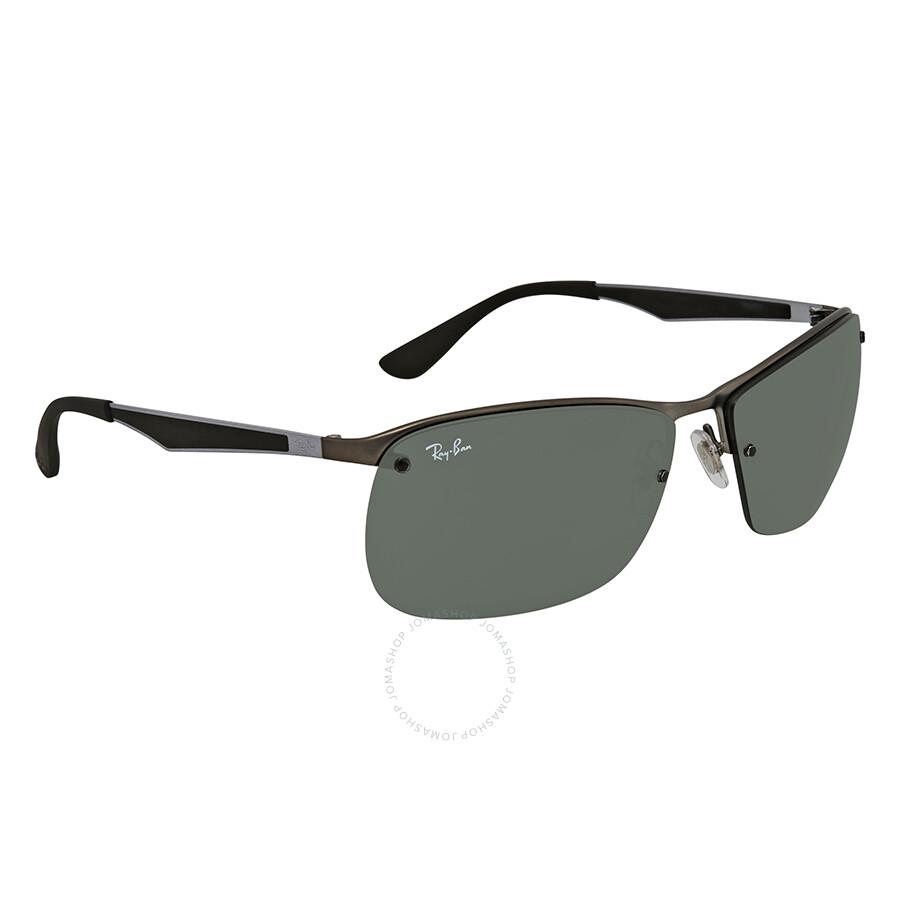 9b9da5fb5d Ray Ban Green Classic Rectangular Sunglasses RB3550 Item No. RB3550 029 71- 64