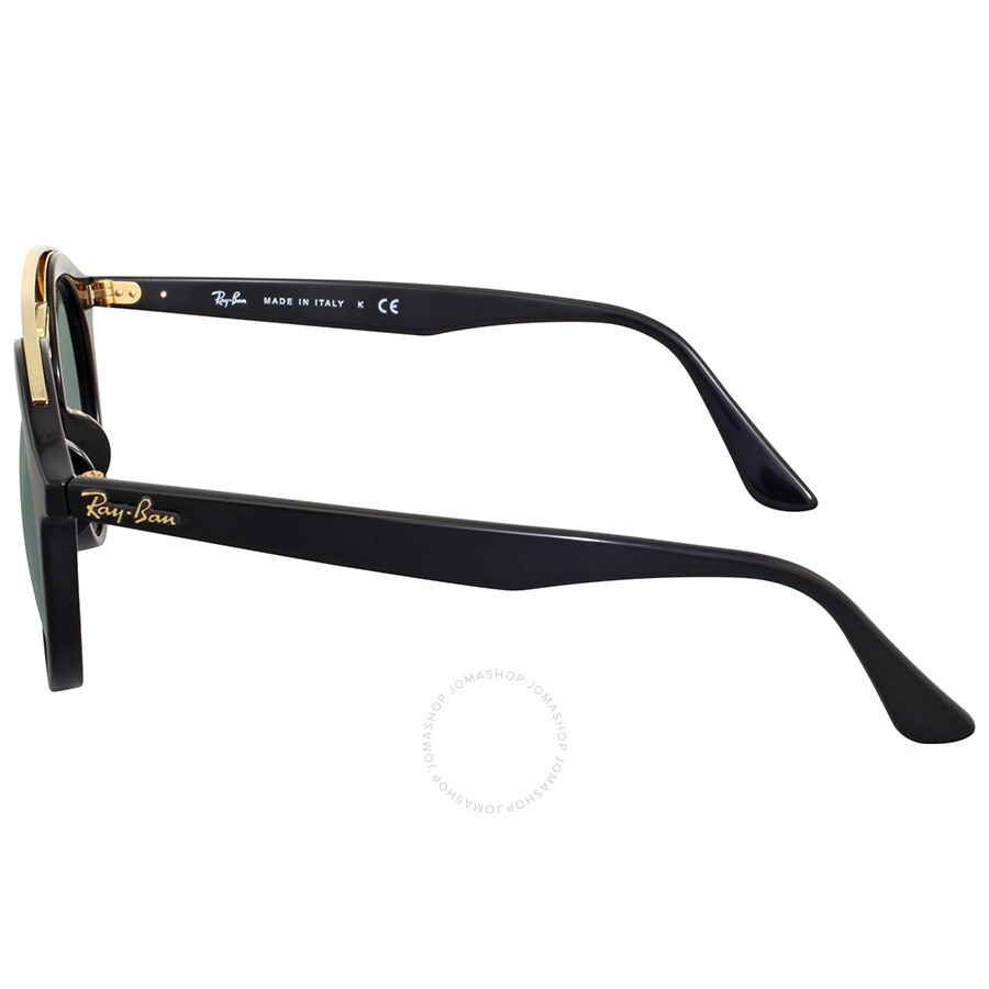 6e59a5e029f Ray-Ban Green Classic Round Asian Fit Sunglasses - Ray-Ban ...