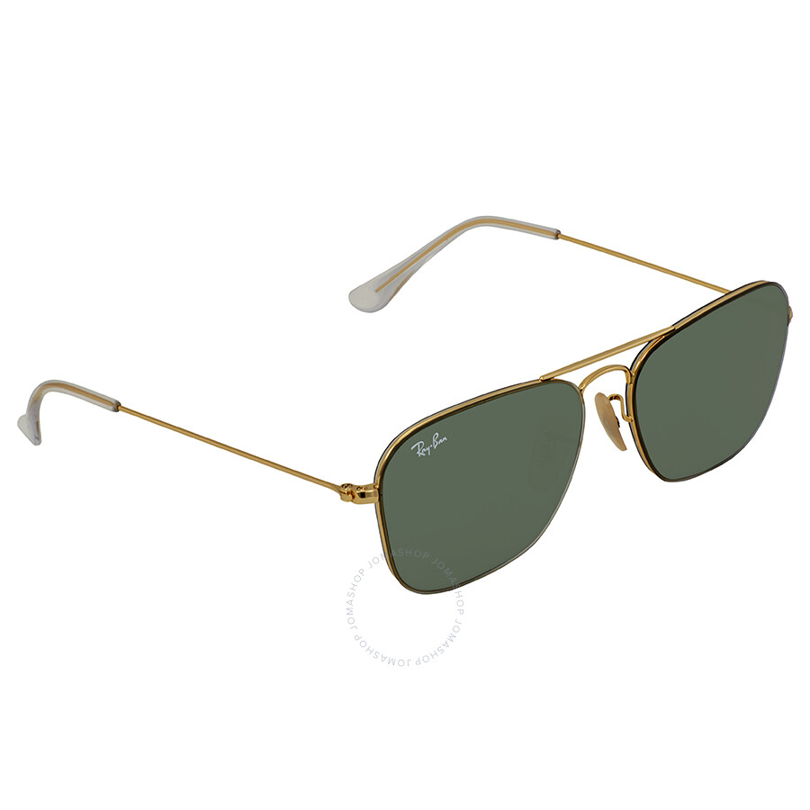 6289234074 Ray Ban Green Classic Square Sunglasses RB3603 001 71 56 - Ray-Ban ...