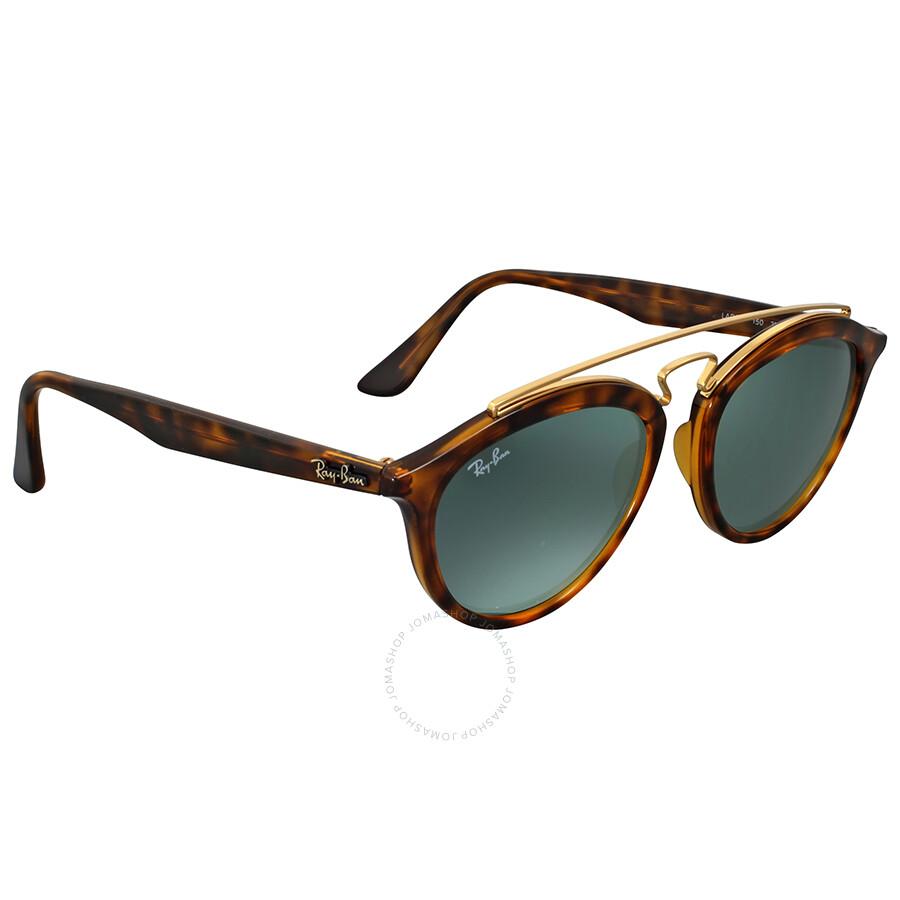 f641ef65a5 ... Ray Ban Gatsby II Tortoise Ladies Round Sunglasses RB4257 710 71 53 ...