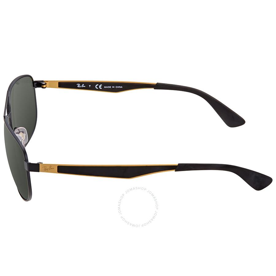 605e0182e5 Ray Ban Green Classic Sunglasses RB3528 191 71 61 - Ray-Ban ...