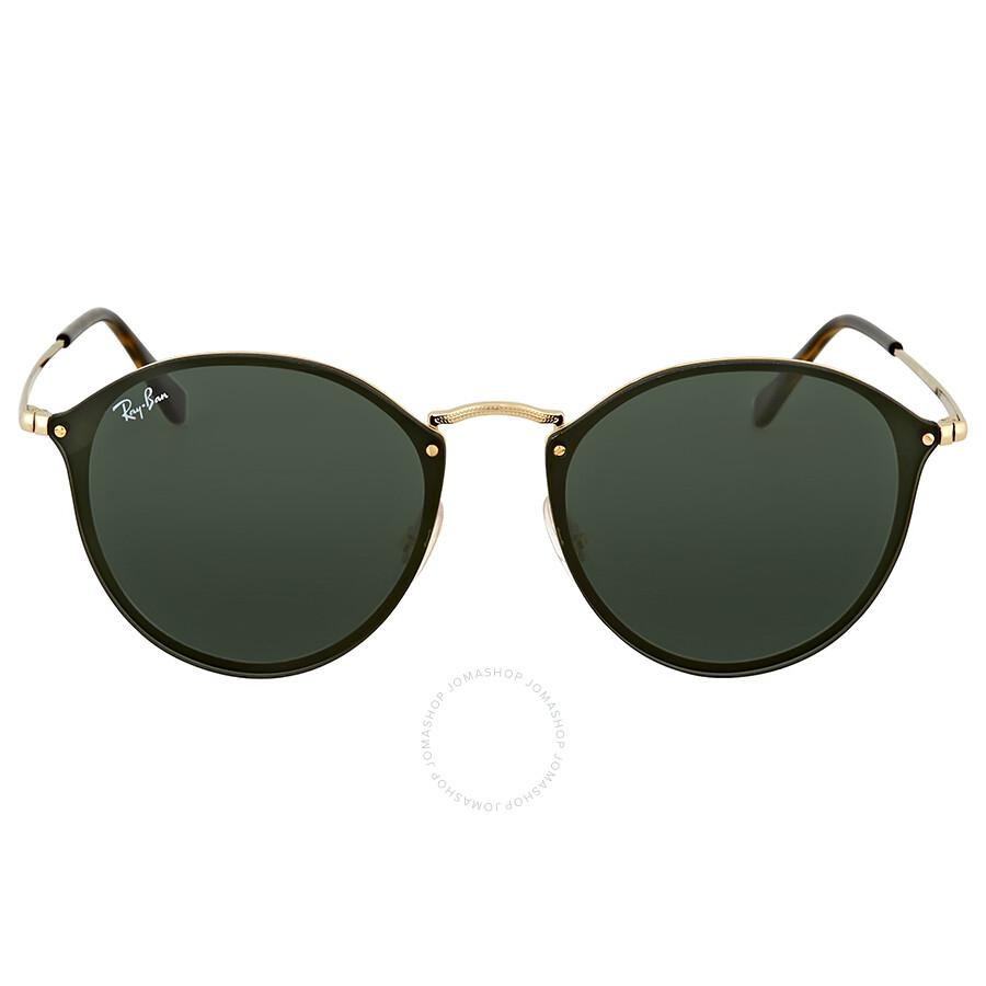 5eb596d721f58 Ray Ban Green Classic Sunglasses RB3574N 001 71 59 - Round - Ray-Ban ...