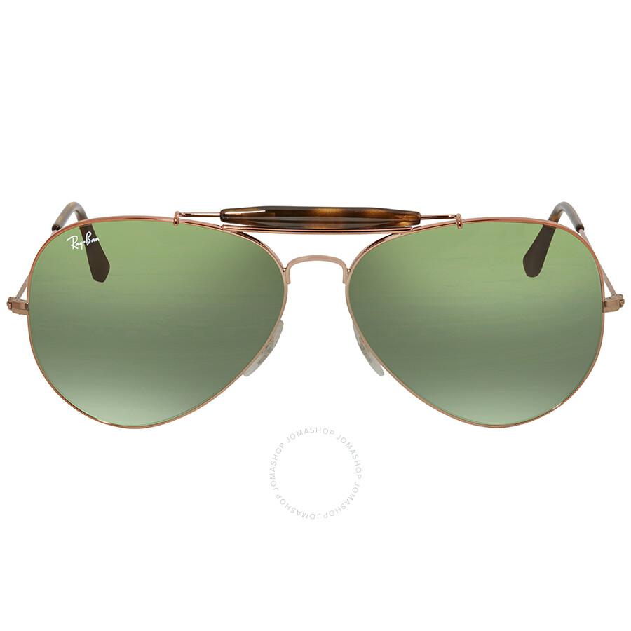 13cb88084c Ray Ban Green Gradient Aviator Men s Sunglasses RB3029 9002A6 62 ...