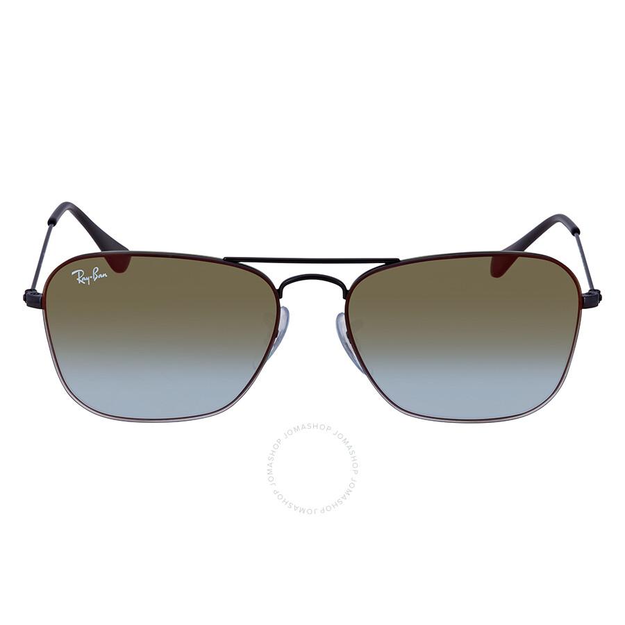 4230f026647 ... Ray Ban Green Gradient Mirror Square Sunglasses RB3603 002 T056 ...
