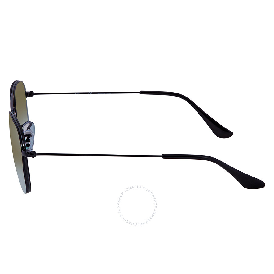 59b0deddcd Ray Ban Green Gradient Mirror Square Sunglasses RB3603 002 T056 ...