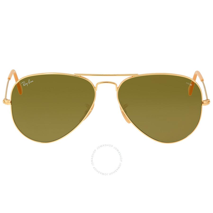 afa0a1452c Ray Ban Green Photocromic Aviator Sunglasses RB3025 90644C 58 ...