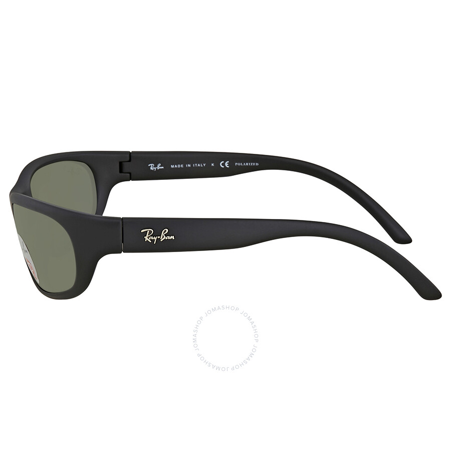 7fc9a86ee7 Ray Ban Green Rectangular Polarized Sunglasses RB4033 601S48 60 ...