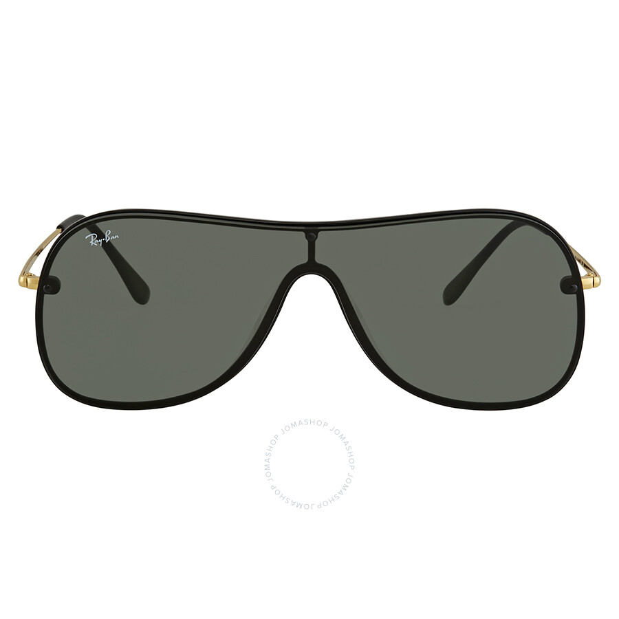 fef820e0c1 Ray Ban Green Rectangular Sunglasses RB4311N 601 71 38 - Ray-Ban ...