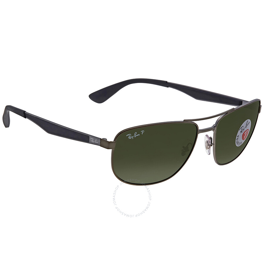 7abbbb42970 Ray Ban Green Sunglasses RB3528 029 9A 61 - Ray-Ban - Sunglasses ...