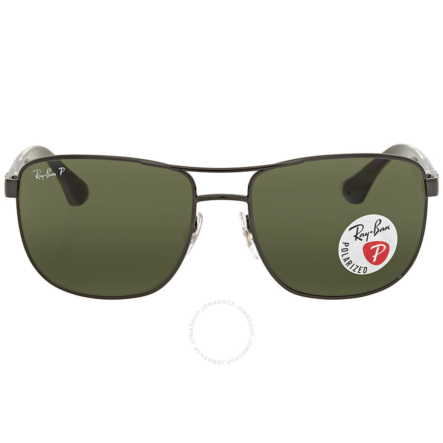 795d027f45 Ray Ban Green Sunglasses RB3533 002 9A 57 - Ray-Ban - Sunglasses ...