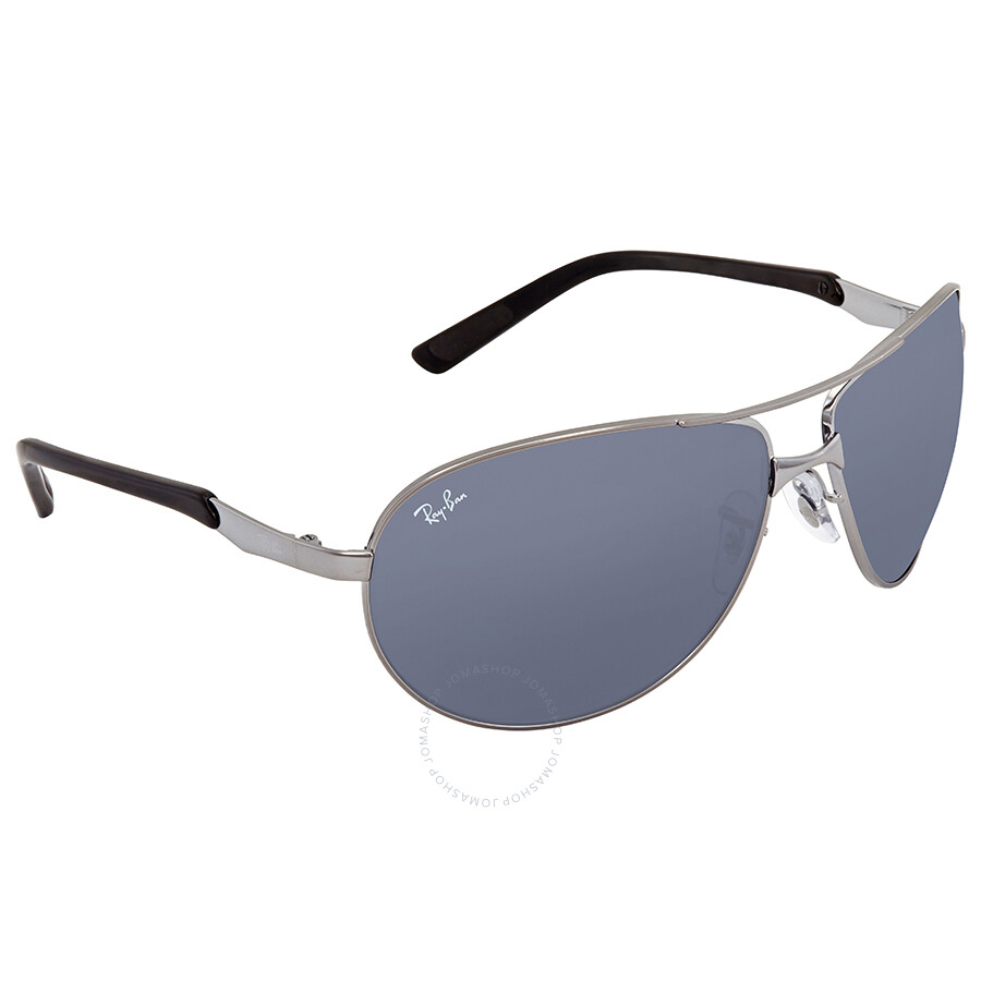 bdc4b2d86a Ray Ban Grey Aviator Men's Sunglasses RB3393 004/87 64 - Aviator ...