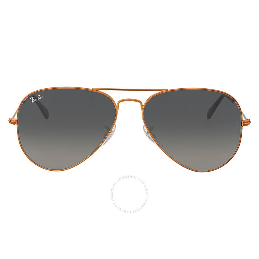 c8570acdf41 Ray Ban Grey Gradient Aviator Sunglasses - Ray-Ban - Sunglasses ...