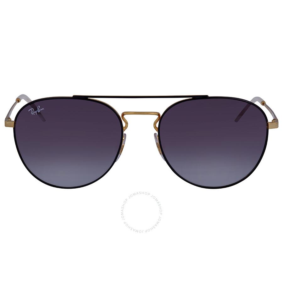 64424db4439 Ray Ban Grey Gradient Aviator Sunglasses RB3589 90548G 55 - Aviator ...