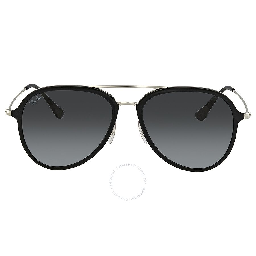 2914c15da6 ... Ray Ban Grey Gradient Dark Grey Aviator Sunglasses RB4298 601 7157 ...