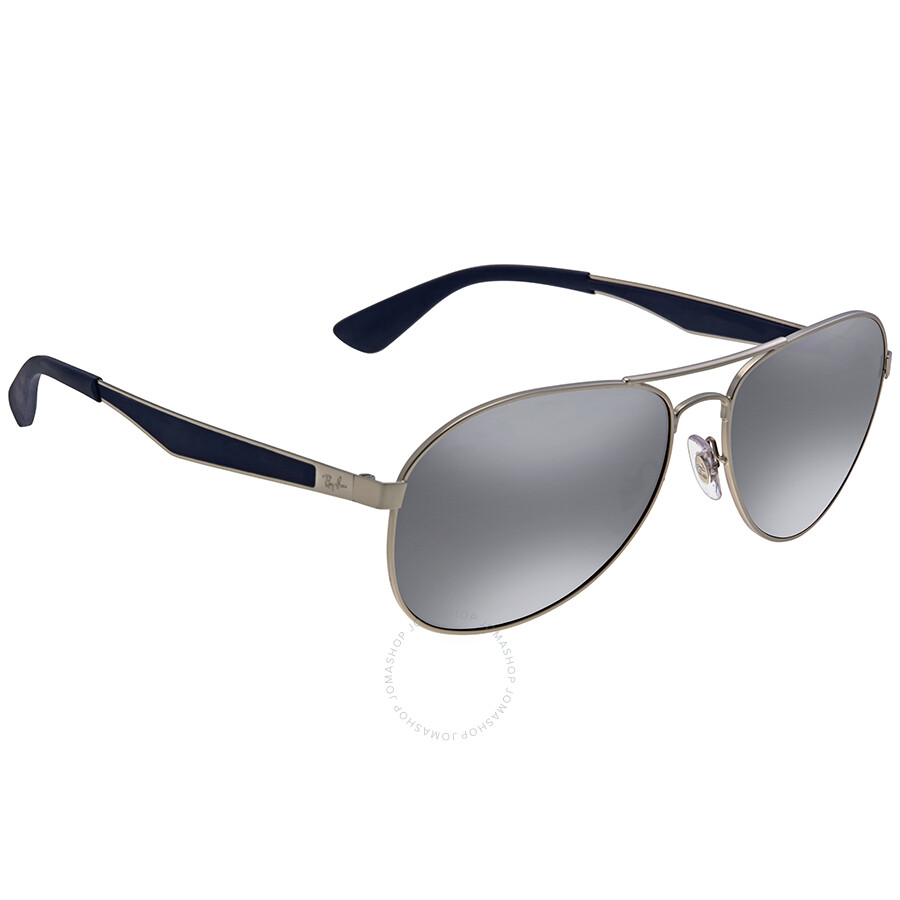 7092894832 Ray Ban Grey Gradient Mirror Men s Sunglasses - Aviator - Ray-Ban ...