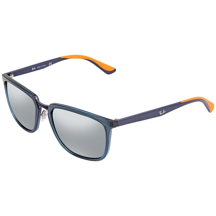 f4dccf683e0e1 Ray Ban Rectangular Sunglasses RB4303 63648857 - Square - Ray-Ban ...