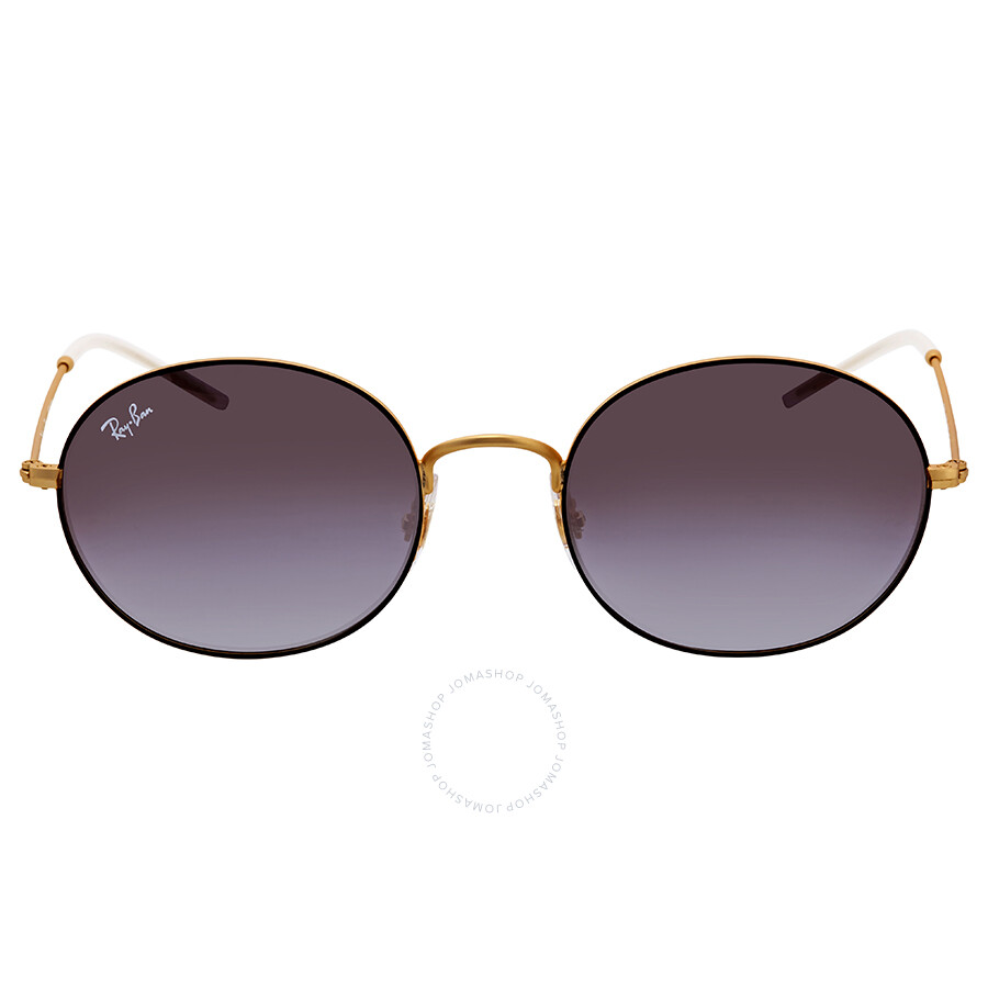44f13f1ef ... Ray Ban Grey Gradient Mirror Red Oval Sunglasses RB3594 9114U0 53 ...