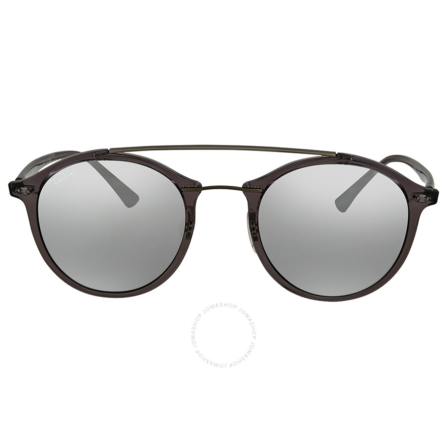 4b7aae8e252 ... Ray Ban Grey Gradient Mirror Round Sunglasses RB4266 620088 49 ...