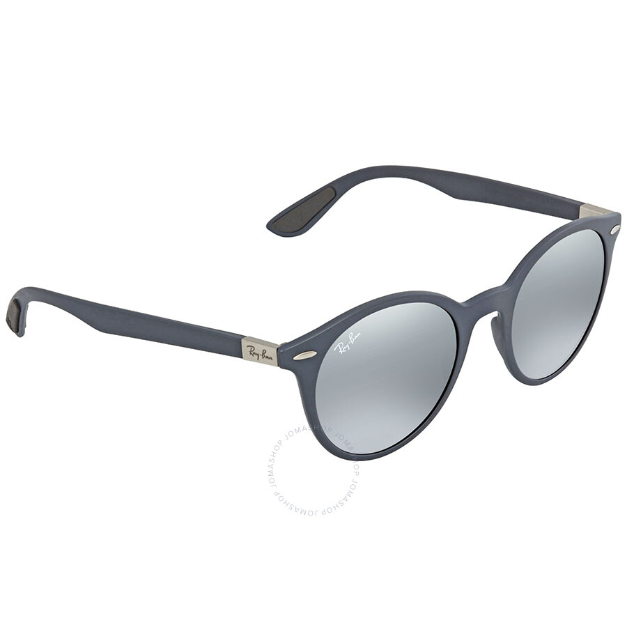 a1d125ec65 Ray Ban Grey Gradient Mirror Round Sunglasses RB4296 633288 51 ...