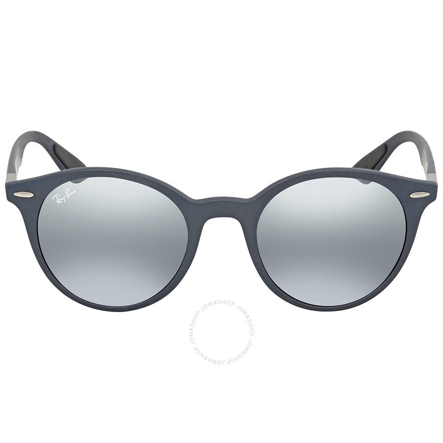 0d7e2290ed ... Ray Ban Grey Gradient Mirror Round Sunglasses RB4296 633288 51 ...