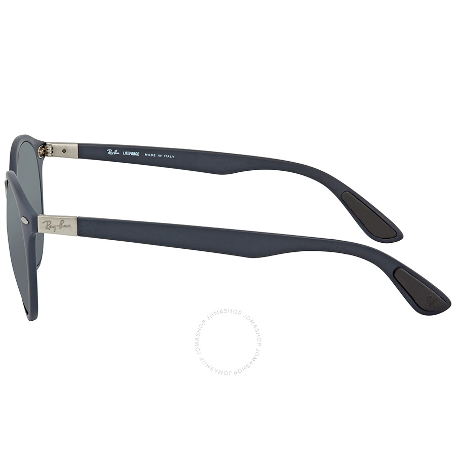 2a5fe9c063 Ray Ban Grey Gradient Mirror Round Sunglasses RB4296 633288 51 ...