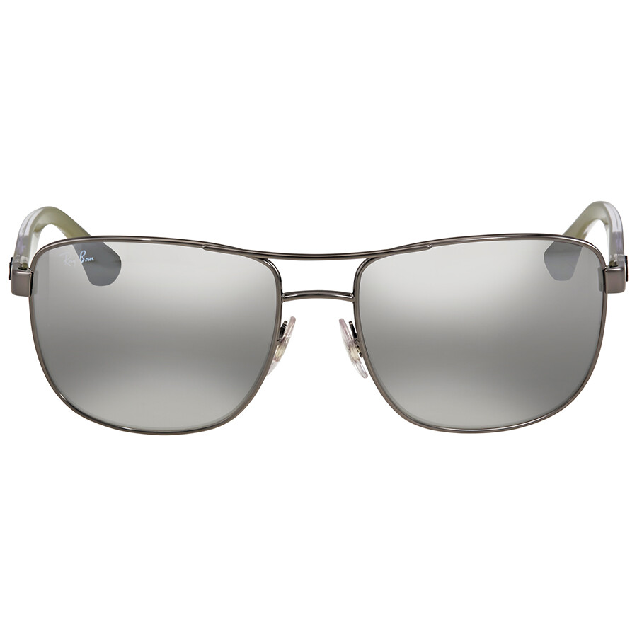 6e8d40f2d6 Ray Ban Grey Gradient Mirror Square Sunglasses Item No. RB3533 004 88 57