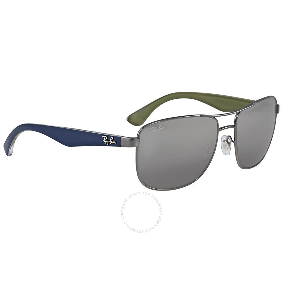 f0ac93b2d2 Ray Ban Grey Gradient Mirror Square Sunglasses - Ray-Ban ...