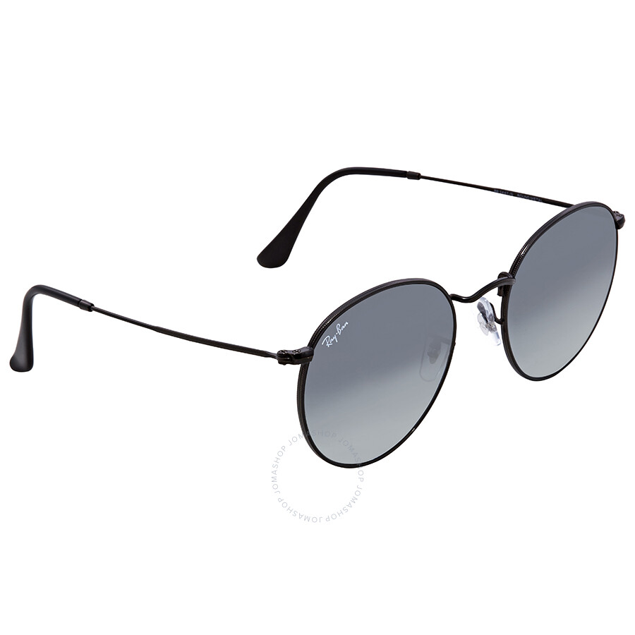 c6cfb799de Ray Ban Grey Gradient Round Sunglasses RB3447N 002 71 53 - Round ...