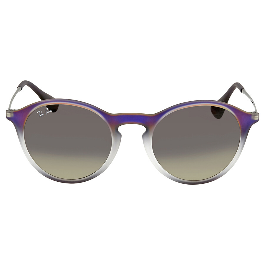 08f0229ddd4 Ray Ban Grey Gradient Round Sunglasses RB4243 622311 49 - Ray-Ban ...