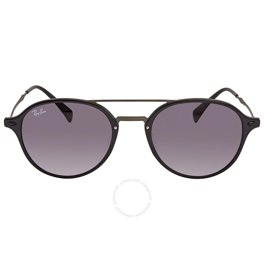 0801ae029cf Ray Ban Grey Gradient Round Sunglasses RB4287 601 8G Item No. RB4287 601 8G  55