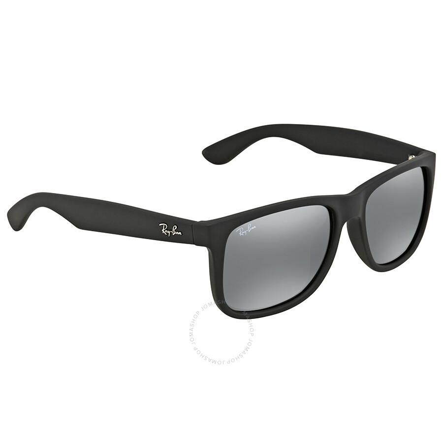 b79747ac12 Ray Ban Grey Mirror Square Men s Sunglasses RB4165F 622 6G 55 ...