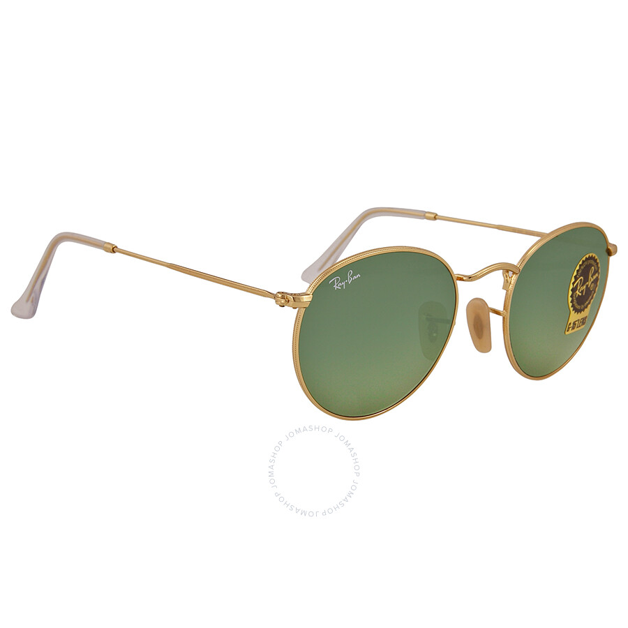 b70858754c9 ... Ray Ban Gold Frames Green Lens 50 mm Sunglasses RB3447 001 50-21 ...
