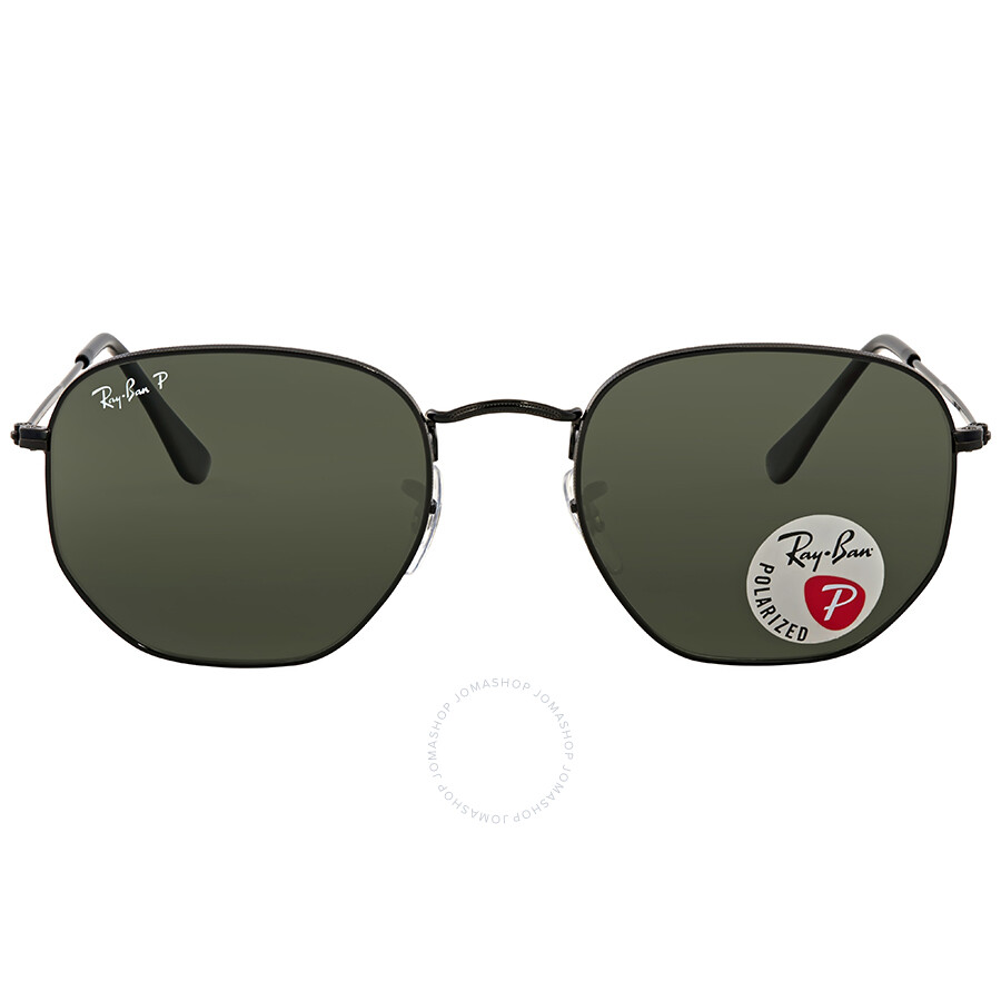 b084912c098 Ray Ban Hexagonal Polarized Green Classic G-15 Men s Sunglasses RB3548N 002 58  54 ...