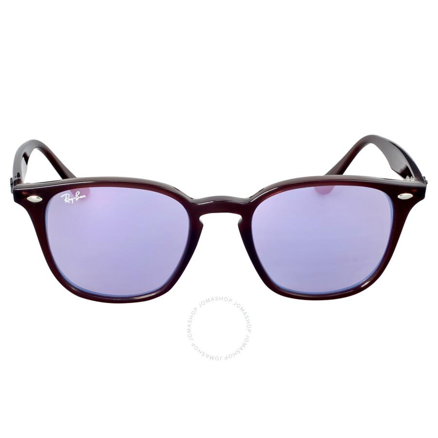 1014cd2390 Ray-Ban Highstreet 50MM Blue Gradient Mirror Sunglasses - Highstreet ...