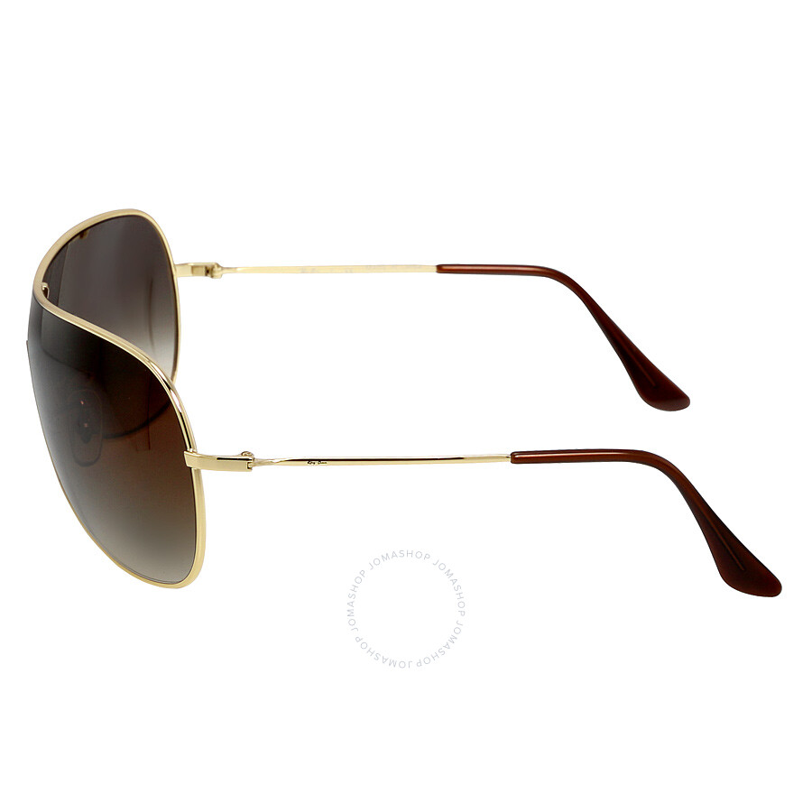 ray ban highstreet aviator sunglasses gold gradient. Black Bedroom Furniture Sets. Home Design Ideas
