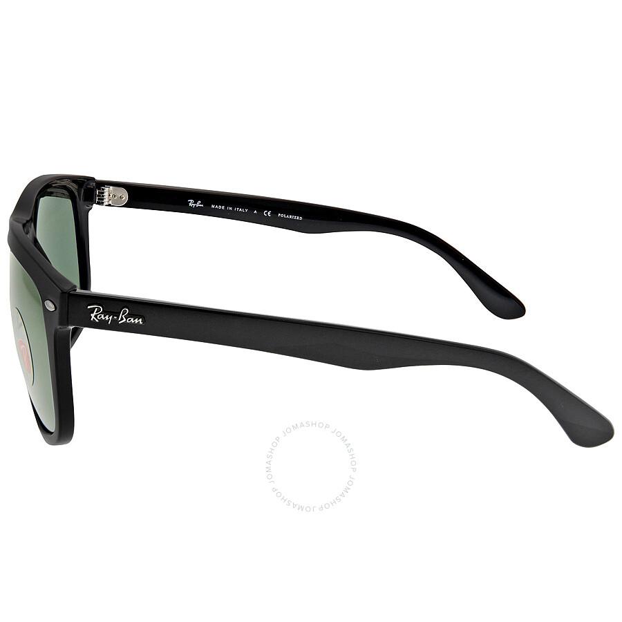 f88a31d0e0e ... Ray-Ban Highstreet Black Nylon Frame Sunglasses RB4147-601-58-60 ...