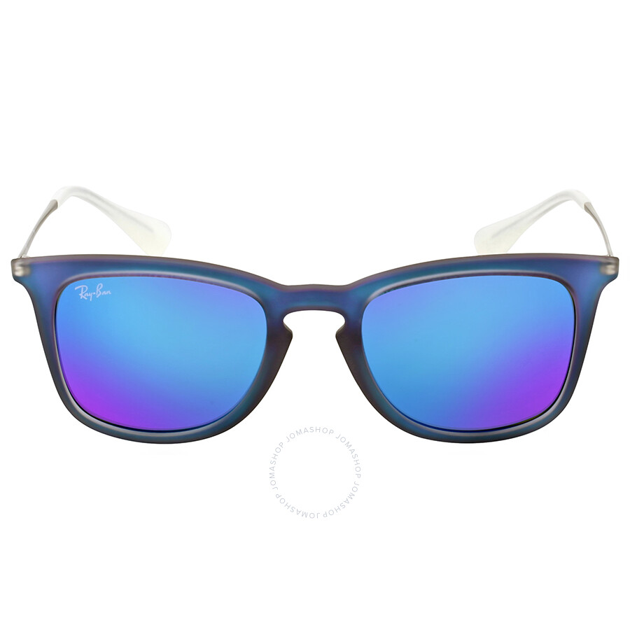 Ray Ban Highstreet Blue Mirror Sunglasses Highstreet Ray Ban