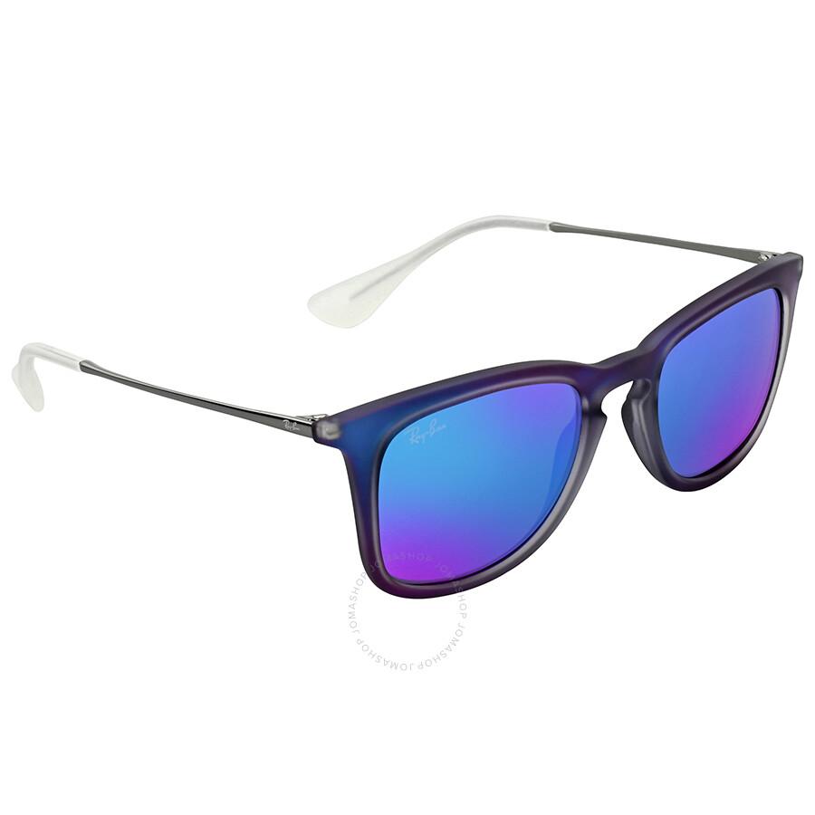 Ray ban highstreet blue mirror sunglasses highstreet for Mirror sunglasses