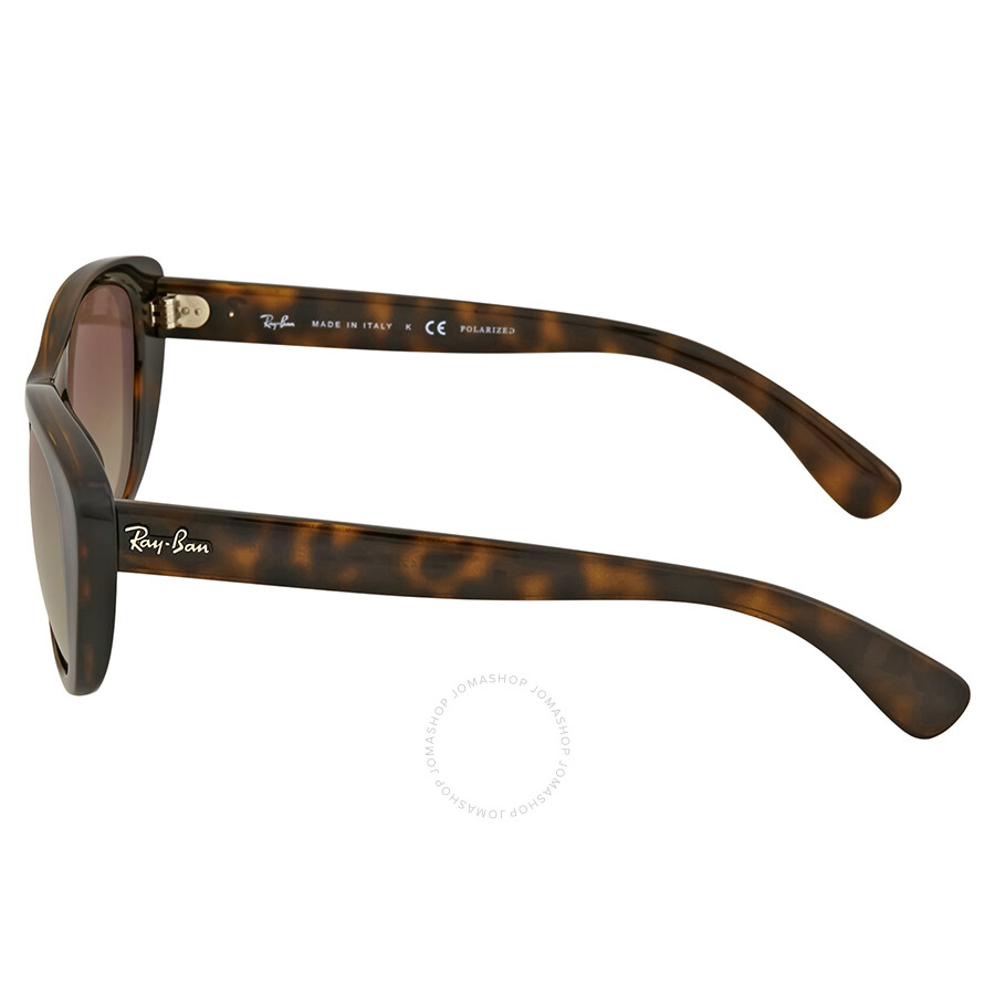 83bc69ae799 Ray-ban Highstreet Brown Gradient Sunglasses